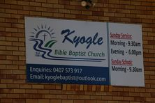 Kyogle Bible Baptist Church 17-01-2019 - John Huth, Wilston, Brisbane