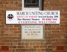 March Uniting Church 04-03-2005 - Alan Patterson