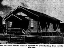 Mary Immaculate Catholic Church - Former 14-03-1949 - Morning Bullerin Rockhampton - trove.nla.gov.au