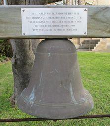 Mount Duneed Wesleyan Church Bell - Former 18-12-2015 - John Threlfall, Mount Duneed.