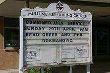 Mullumbimby Uniting Church 26-04-2018 - John Huth,  Wilston,  Brisbane