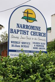 Narromine Baptist Church 09-02-2020 - John Huth, Wilston, Brisbane
