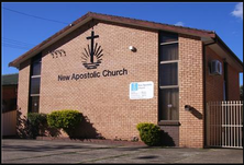 New Apostolic Church unknown date - Church Website - See Note.