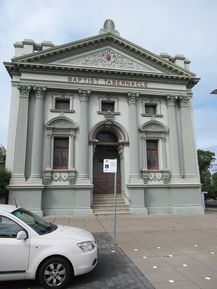 Newcastle Baptist Taberbacle 04-04-2019 - John Conn, Templestowe, Victoria