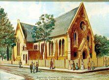 Newtown Baptist Church 13-04-2015 - Water Colour - John F Fryer - Church Facebook - See Note