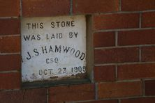 North Toowoomba Uniting Church - Former - 1 of 4 Foundation Stones 02-12-2016 - John Huth, Wilston, Brisbane