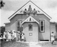 Oatley Uniting Church - Original Wooden Building 00-00-1941 - See Note.