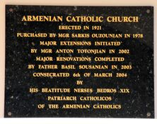 Our Lady of the Assumption Armenian Catholic Church 10-01-2021 - Peter Liebeskind