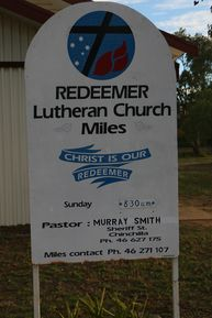 Redeemer Lutheran Church 02-11-2016 - John Huth, Wilston, Brisbane.