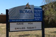Roma Seventh-Day Adventist Church 15-08-2017 - John Huth, Wilston, Brisbane