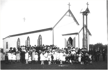 Sacred Heart Catholic Church unknown date - Outback Family History - See Note 1.