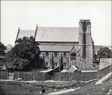 Sacred Heart Catholic Church - First Church 00-00-1870 - Charles Percy Pickering - See Note