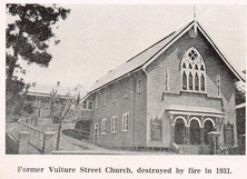 South Brisbane Congregational Church - Former unknown date - published in A Century of Witness 1865 - 1965 Hiley & Hiley