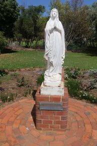 St. John the Baptist Catholic Church - Statue 06-04-2019 - John Huth, Wilston, Brisbane