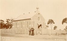 St Alban's Anglican Church - Earlier Building 00-00-1900 - William Henry Broadhurst - See Note.