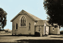 St Andrew's Presbyterian Church - Original Building 00-00-1949 - Photographs by family of Bill Fraser c 1949