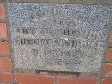 St Andrew's Presbyterian Church  - Stone Tablet 03-02-2016 - John Conn, Templestowe, Victoria