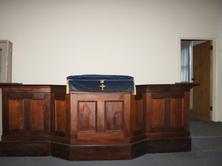 St Andrew's Uniting Church - Former - Pulpit 14-06-2013 - Elders Real Estate - Camperdown - realestate.com.au