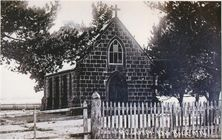 St Bernard's Catholic Church - Former Building unknown date - Victorian Collections - See Note.