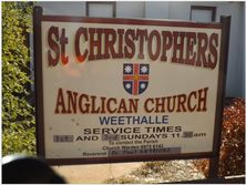 St Christopher's Anglican Church 22-05-2018 - Grahame Cookie - See Note