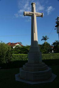 St Colomb's Anglican Church - Cross of Sacrifice 25-03-2016 - John Huth, Wilston, Brisbane