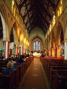 St Francis Xavier Catholic Cathedral 04-05-2014 - Bahudhara - Wikimedia - See Note.
