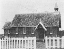 St George's Anglican Church - Former 00-00-1912 - John Oxley Library SLQ - See Note.