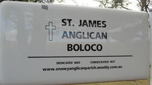 St James Anglican Church - Notice Board 31-01-2018 - Derrick Jessop