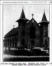 St James' Catholic Church 00-12-1936 - Photograph supplied by Karl Quinn, Ireland