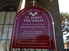 St James the Great Anglican Church 00-00-2021 - Church Website - See Note.