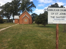 St John the Baptist Anglican Church - Former