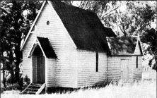 St John's Anglican Church - Former unknown date - Photograph supplied by David Wiedemann 12/3/2018