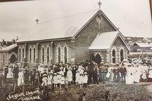 St John's Anglican Church - Original Building 00-00-1909 - Photograph supplied by John Huth, Wilston, Brisbane - See No