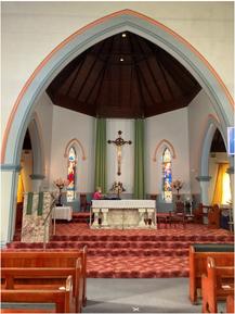 St Joseph's Catholic Church 00-00-2020 - Photograph supplied by Frank Curtain