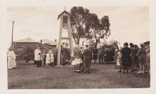 St Mark's Anglican Church - Consecration of Bell Tower 1944 03-11-2018 - Tottenham Historical Society Inc - See Note.