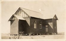 St Mark's Anglican Church - Early Photograph Date Unknown 03-11-2018 - Tottenham Historical Society Inc - See Note.