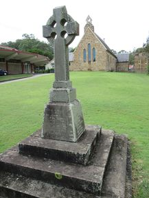 St Mary's Anglican Church - WW I Memorial in Foreground 03-04-2019 - John Conn, Templestowe, Victoria