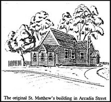 St Matthew's Anglican Church unknown date - Church Website - See Note.