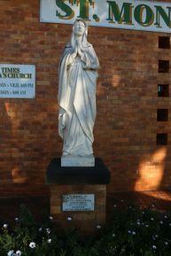 St Monica's Catholic Church - Statue St Monica 06-08-2017 - John Huth, Wilston, Brisbane