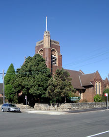 St Oswald's Anglican Church  11-08-2002 - Alan Patterson
