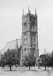 St Paul's Anglican Cathedral 00-00-1890 - W H Robinson Studio 1890 - See Note.