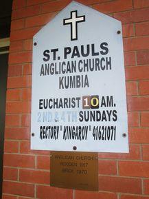 St Paul's Anglican Church - Former 07-03-2017 - John Huth, Wilston, Brisbane.