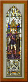 St Paul's Anglican Church - Former - One of the Windows 01-08-2017 - Bruce Wall, Hay