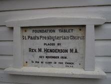 St Paul's Presbyterian Church - Former 16-05-2016 - John Huth, Wilston, Brisbane