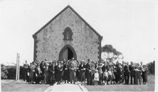 St Peter's Anglican Church - Jubilee Anniversary 00-09-1934 - Mallala Museum - See Note.