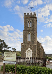 St Philip and St James Anglican Church - Former