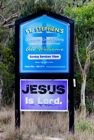 St Stephen's Community Church  09-04-2016 - Derek Flannery