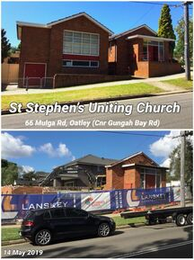 St Stephen's Uniting Church - Former 14-05-2019 - I Grew Up in Mortdale 2223 - See Note.