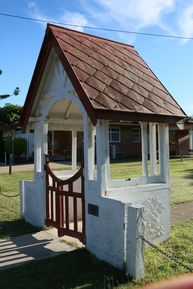 The Anglican Church of Our Holy Saviour - Lych Gate 24-11-2017 - John Huth, Wilston, Brisbane