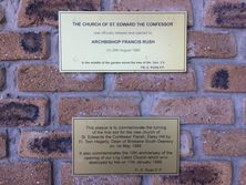 The Church of St Edward the Confessor - Blessing & Opening Plaque 05-02-2018 - Errol Phillips